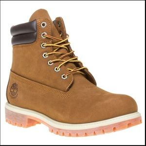 Timberlands waterproof leather work boot